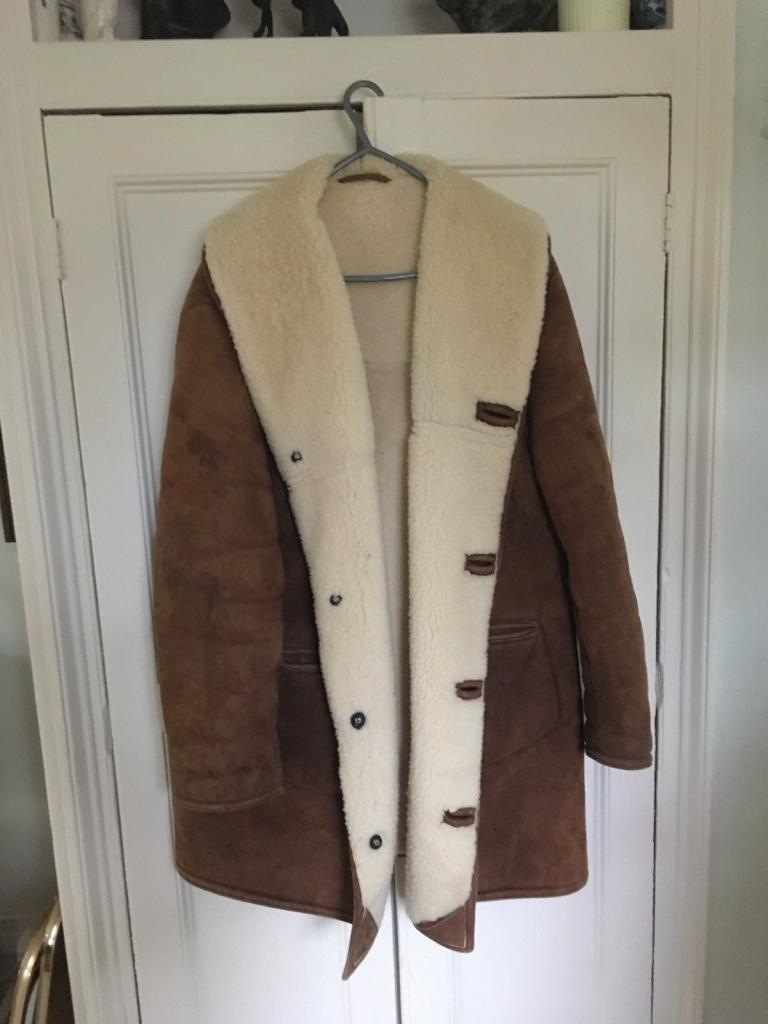 to clean a sheepskin coat at home