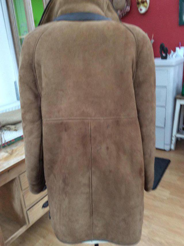 how to clean a sheepskin coat at home