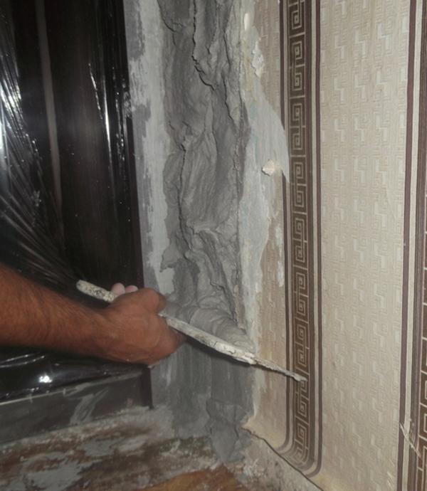Штукатурка дверного проема своими руками 100