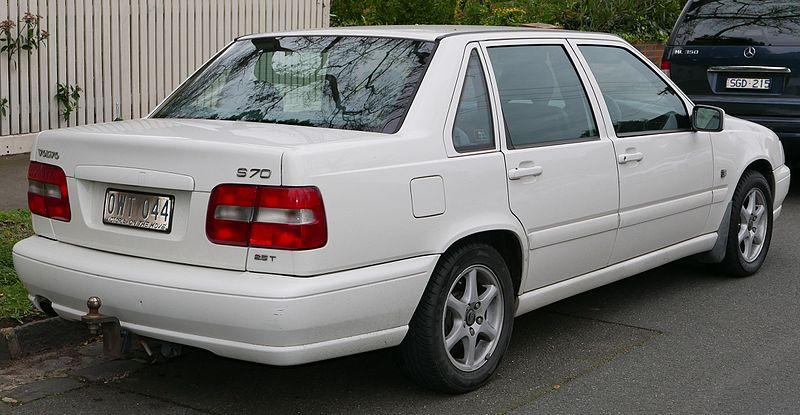 задние фары модели volvo s70