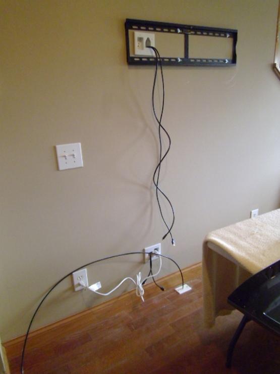 TV bracket retractable photo