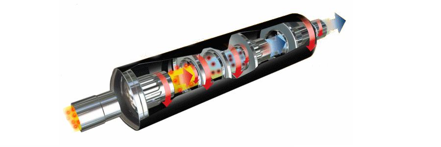 пламегаситель из катализатора