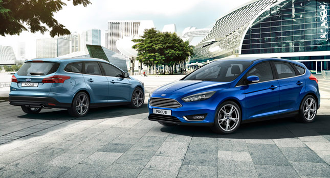 focus station wagon specifications photo