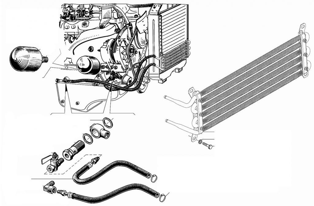 масляный радиатор газель 405 двигатель