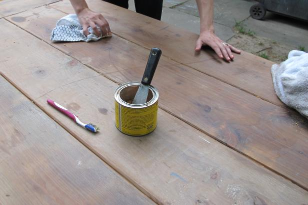 composition for waxing your own wood