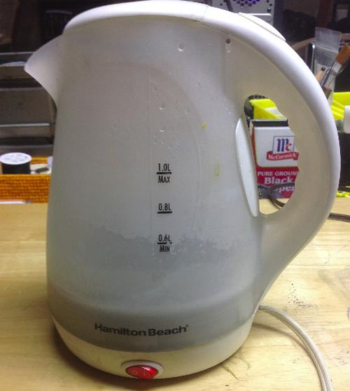 repair electric kettle switch