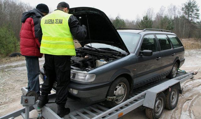 customs clearance new car photo