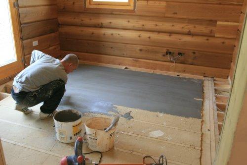 клей для фанеры на бетонный пол