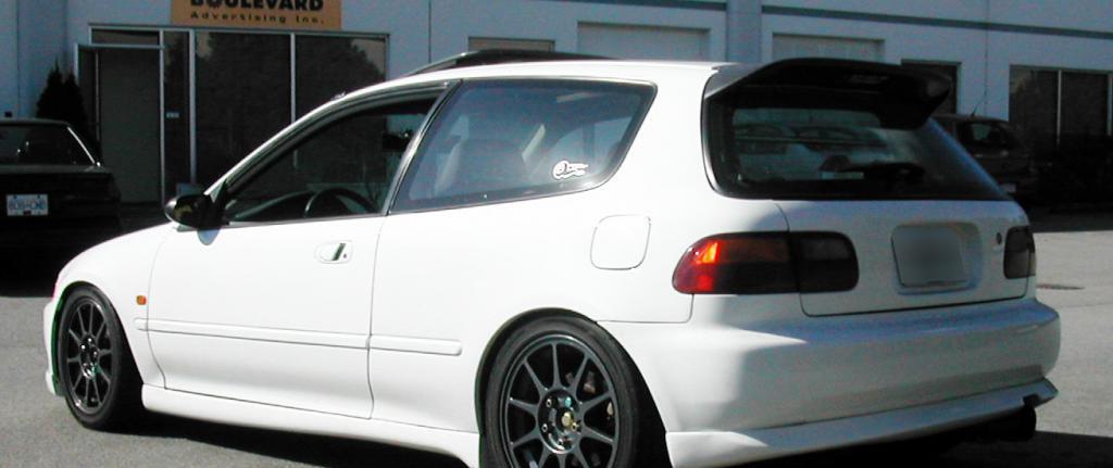 Honda Civic hatchback generation
