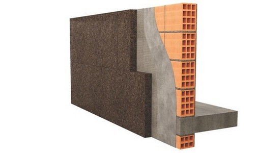 insulating a brick wall from the inside with mineral wool technology