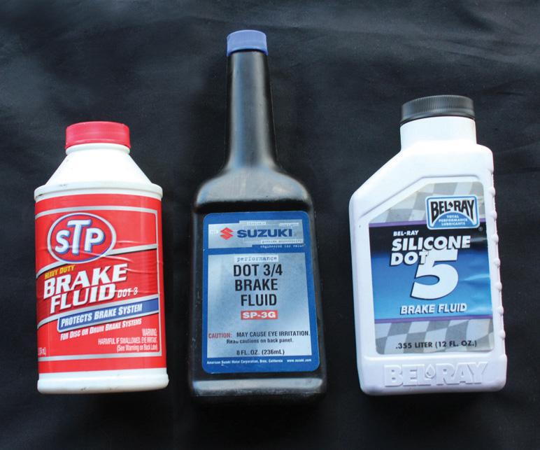 смешивание тормозной жидкости разных марок