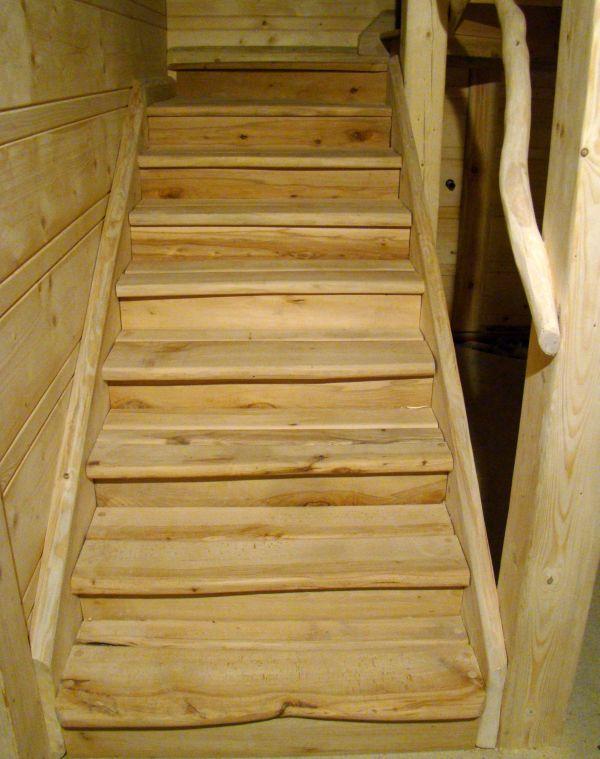 отступ для лестницы в бане
