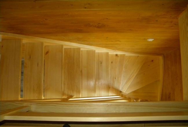 отступ от стены для лестницы