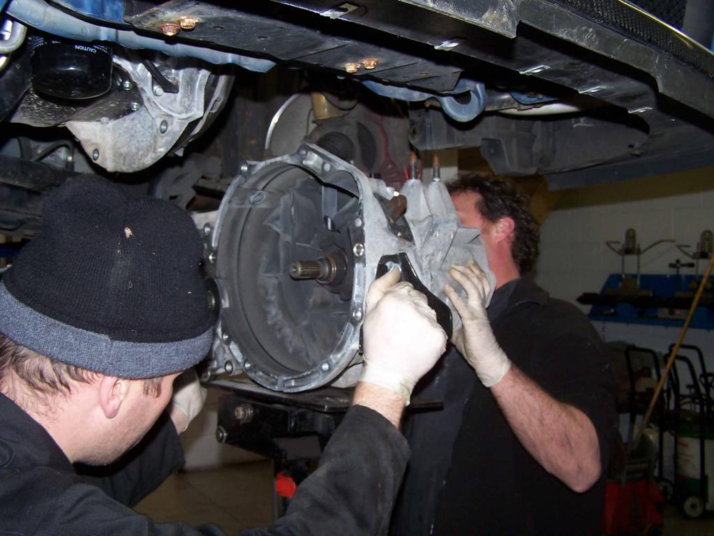 работы механической коробки передач
