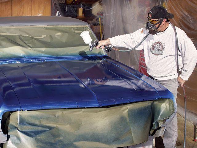 как покрасить машину в домашних условиях