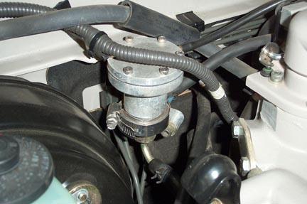 схема системы питания карбюраторного двигателя