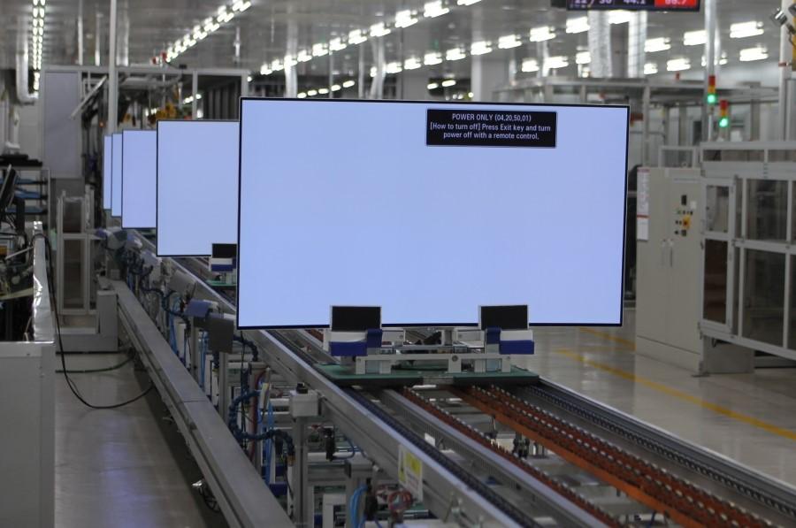 устройство экрана телевизора