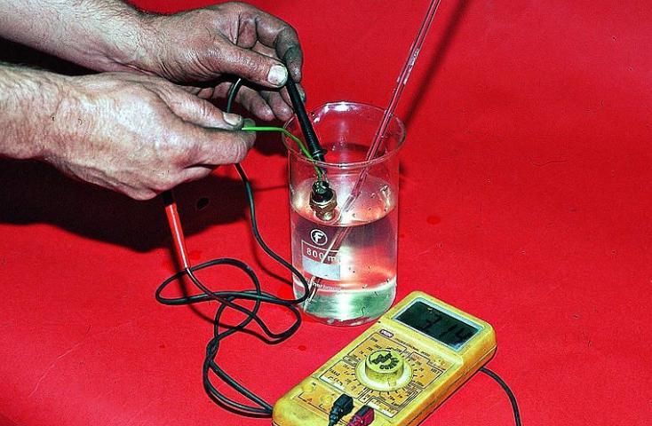 датчик температуры двигателя ваз