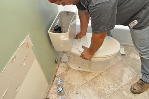 how to fix the toilet