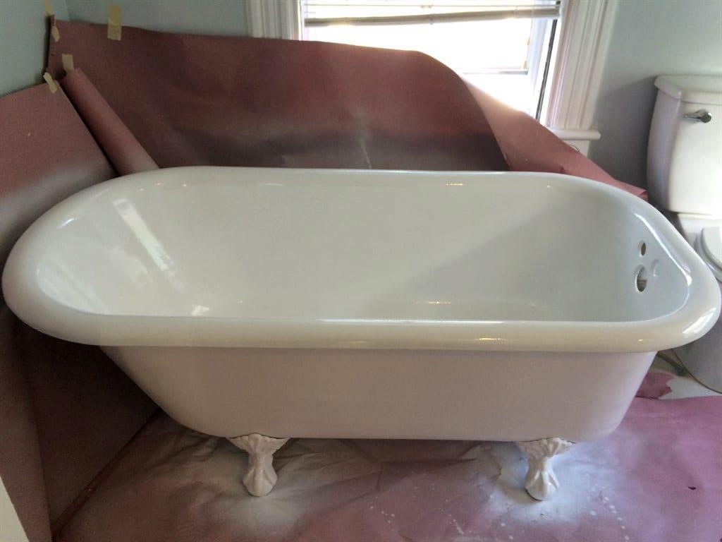 Как восстанавливают чугунные ванны: порядок действий, необходимые материалы и советы специалистов