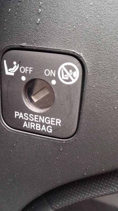 как отключить пассажирскую подушку безопасности