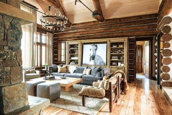 Интерьер внутри дома: оригинальные идеи и варианты, советы дизайнеров, фото