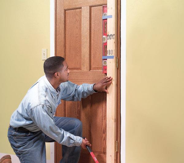 install the interior doors