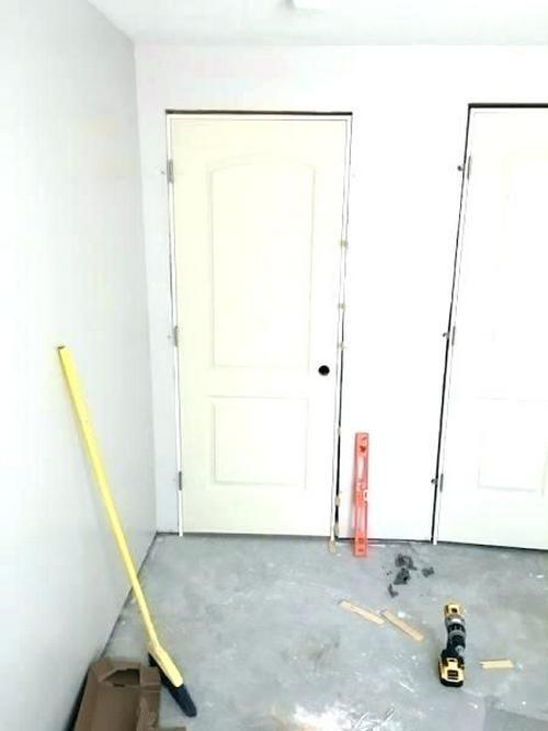 repair - install the doors