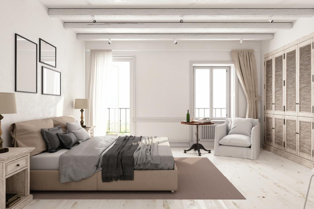Белая спальня в современном стиле: лучшие идеи дизайна и фото