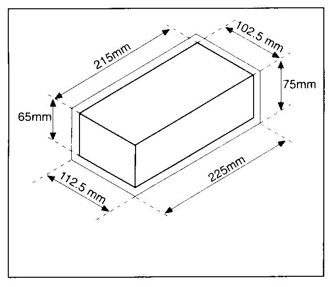 длина силикатного белого кирпича