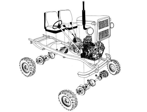 мини тракторы из мотоблока