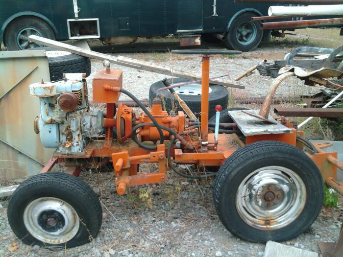 самоделки мини тракторы
