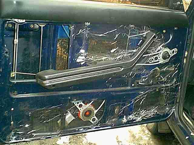установка стеклоподъемника на ВАЗ 2107