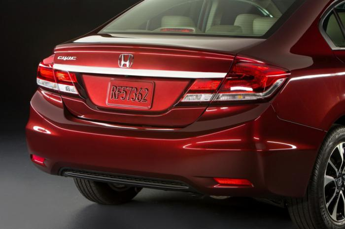 Honda Civic 4D технические характеристики