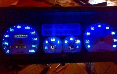 панель приборов ВАЗ 2109 низкая панель