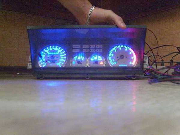 снять панель приборов ВАЗ 2109