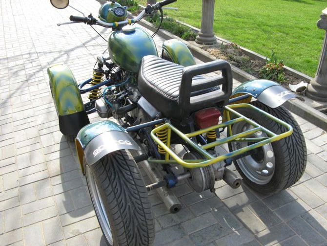 как сделать квадроцикл из Урала