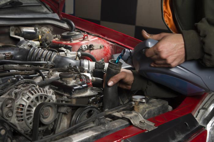 как промыть систему охлаждения автомобиля