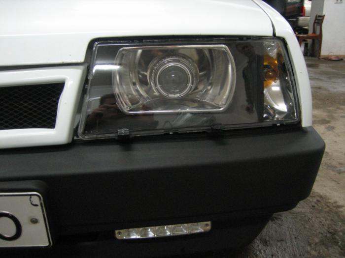 стекла на фары ВАЗ 2109