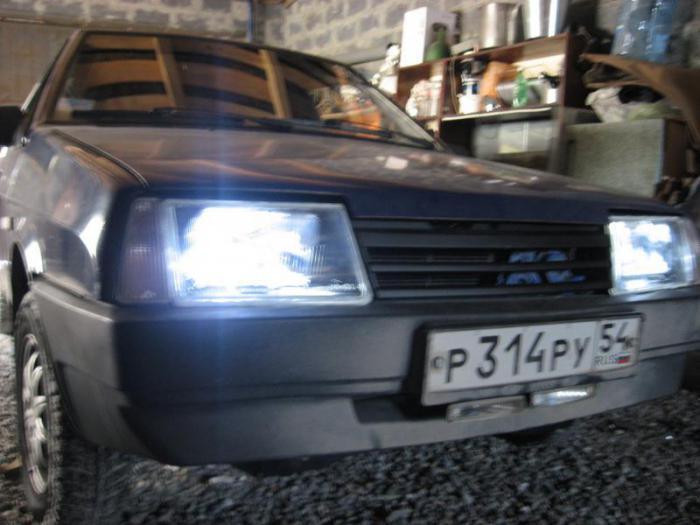 фары на ВАЗ 2109