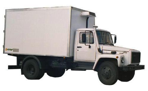 ГАЗ 3309 технические характеристики