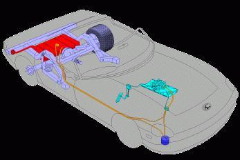 схема топливной системы маз