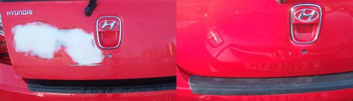 локальная покраска автомобиля своими руками