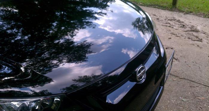 защитное покрытие автомобиля жидким стеклом