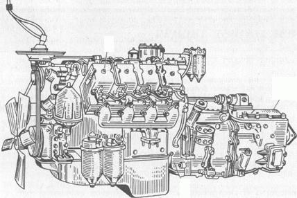 схема двигателя камаз 740