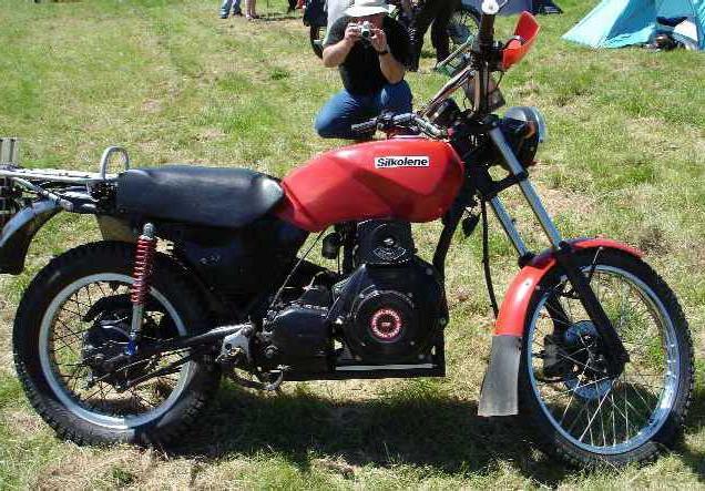 самодельный дизельный мотоцикл
