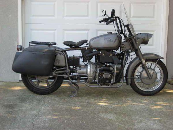 дизельный мотоцикл своими руками