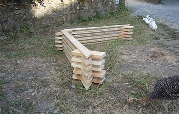 как построить деревянную теплицу