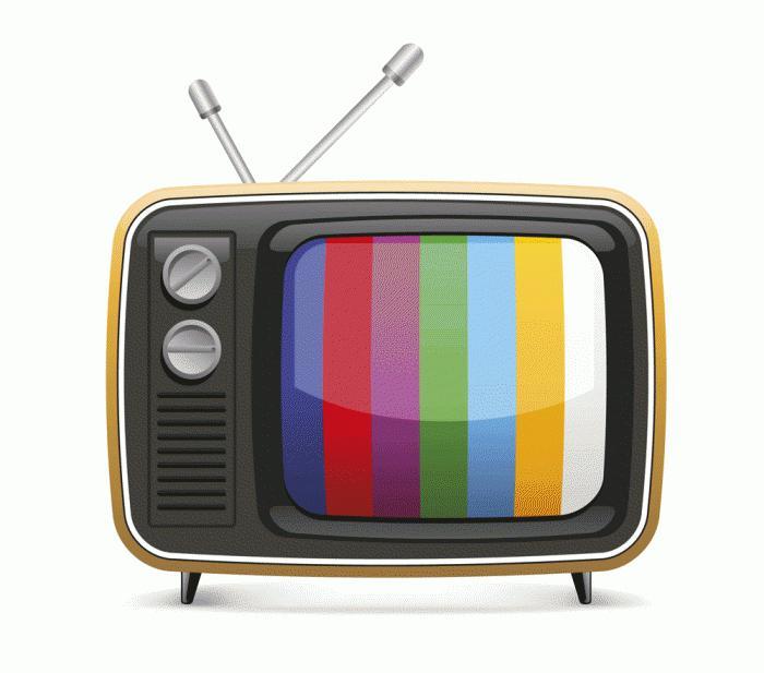 телевизор в комнате большой