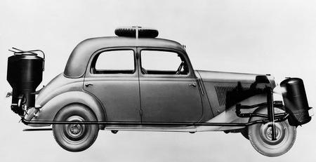 авто на дровах газогенератор в автомобиле